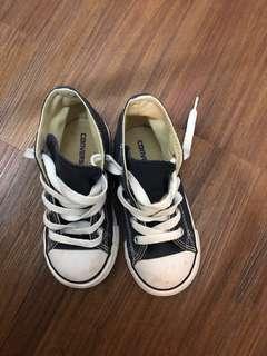 🚚 Original Mini Converse high ankle canvas shoes