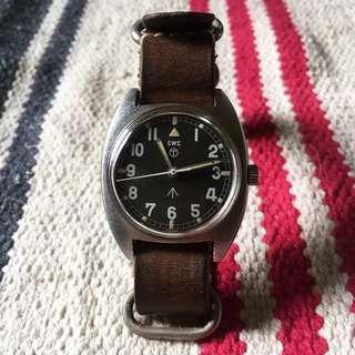 Rare Vintage 1960s British Military CWC W10 Wrist Watch not omega rolex tudor