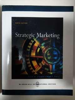 Strategic Marketing - Mc Graw Hill
