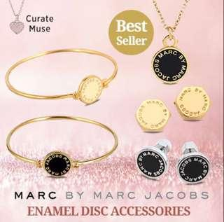 Marc By Marc Jacob's Earrings Necklace Bangle