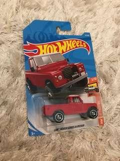 Hot Wheels Land Rover Pickup