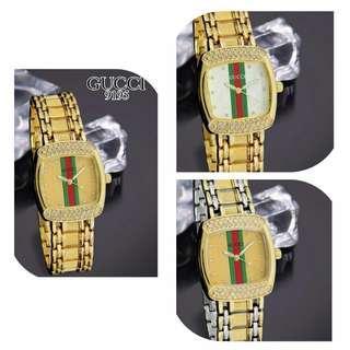 Jam gucci 9195,3×3,4cm Stainless premium