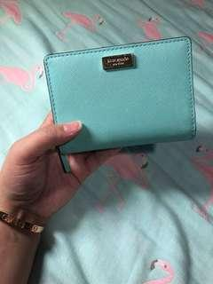 Authentic Kate Spade medium size wallet in mint green