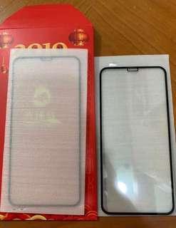 iPhone XR max 高清玻璃保護貼 / 鋼化膜 有黑邊 $55/塊 兩塊$100蚊包郵