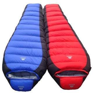 Mountain Equipment 加厚羽絨露營睡袋 0℃ -15℃ -25℃