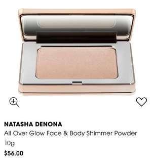 🚚 NATASHA DENONA All Over Glow Face & Body Shimmer Powder