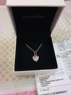 Pandora Rosegold Necklace (repriced)