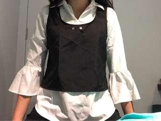 Two in one blouse
