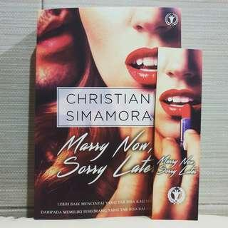 Marry Now, Sorry Later By Christian Simamora
