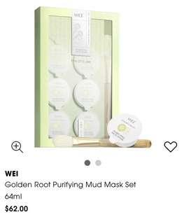 🚚 WEI Golden Root Purifying Mud Mask Set 64ml