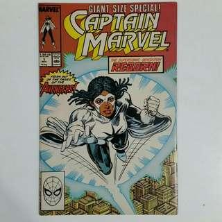 Captain Marvel No.1 comic