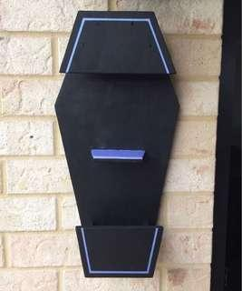Coffin Planter / Shelf