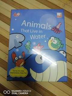 Dickens Flash Card 'Animals That Live in Water'