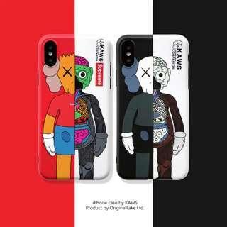 iPhone / Android 手機殼 KAWS解剖公仔