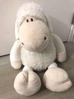 德國NICI sheep Jolly 巨型70 cm 高羊咩咩公仔