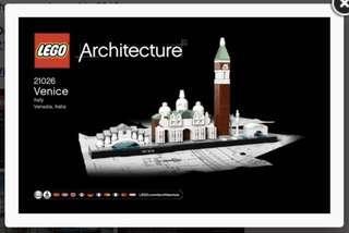 🚚 WTB LEGO 21026 : Venice Skyline Set (BNIB)