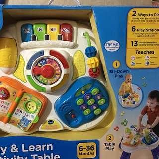 Vtech 玩具 繽紛學習桌 連盒 全新