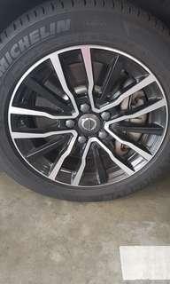 Original Volvo 16 inch wheels and Rims