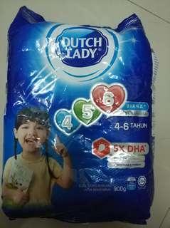 Dutch Lady 4-6 900g