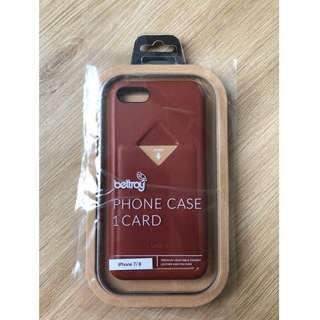 Bellroy iPhone case 7/8 (with 1 card access)