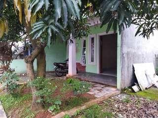 (BU) Jual Rumah Lingkungan Asri Tanah Luas Pondok Petir Bojonggede Depok