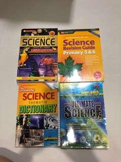 Psle P5-P6 science Guide books