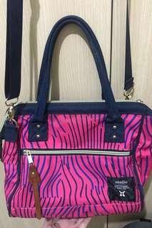 Anello Medium Sling Bag (Stripes)