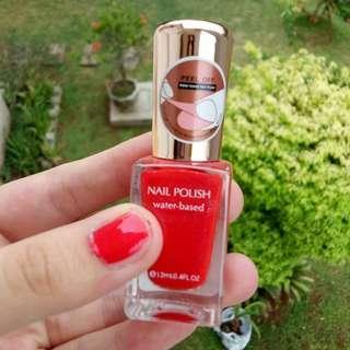 Miniso Water Based Nail Polish - Red / Merah