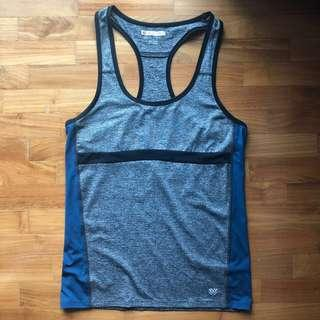 Forever 21 F21 Colorblock Tank Top Yoga