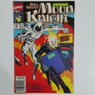 Moon Knight comics lot