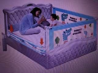 Bed rail playpen fence gate guard safety for baby infant child