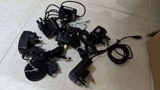 FOC USB mini (B) chargers and cables