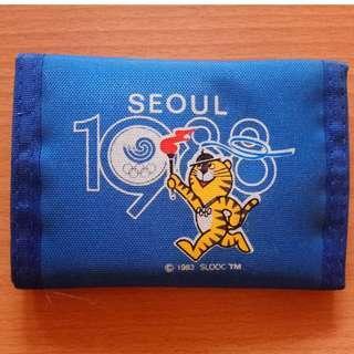 🚚 1988 漢城奧運紀念錢包 (Seoul Olympic Vintage Wallet)