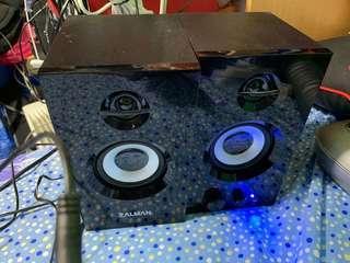 Zalman ZM-S300 2.0 Active Stereo Speaker