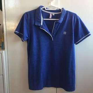 Penshoppe Blouse in Blue