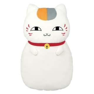 NEW JAPAN LUCKY CAT NATSUME CUSHION - CRANE TOY EXCLUSIVE