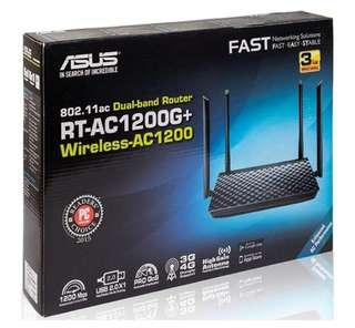 ASUS RT-AC1200G+ Router WiFi ac 1200 g ac1200g