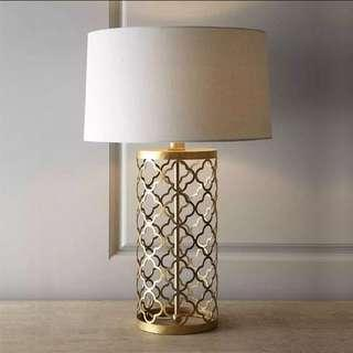 Lattice Cage Table Lamp