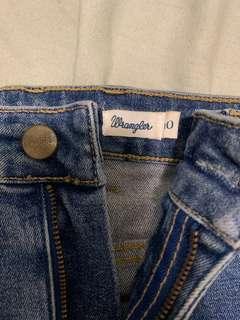 Wrangler Denim Mini Skirt
