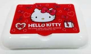 🚚 BN AUTHENTIC HELLO KITTY TISSUE HOLDER WITH MIRROR