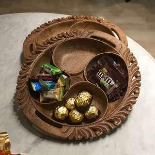 Wooden Candy Tray