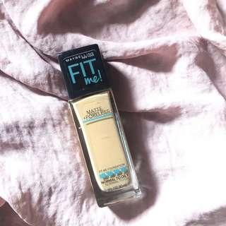 Maybelline Fit Me Matte Poreless Foundation
