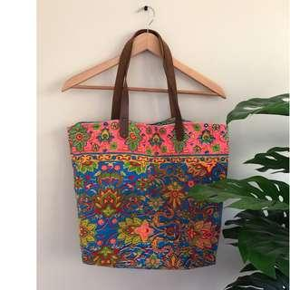 Colourful Beach Bag