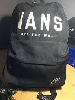 Preloved Vans Backpack/Ransel Original