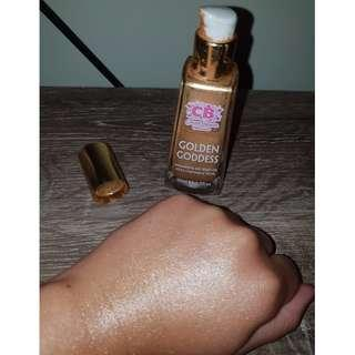 Golden Goddess Shimmering Dry Body Oil