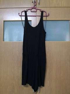 Cotton On Women Black Jumpsuit