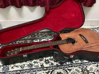 Acoustic Guitar- Kriens KD540 with hard case bag