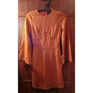 Double woot dress