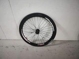 Back wheelset