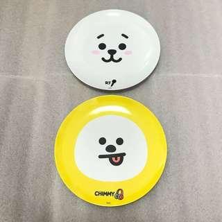 japan exclusive bt21 plates
